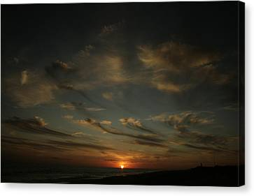 An Atlantic Sunset Canvas Print by Christopher Kirby