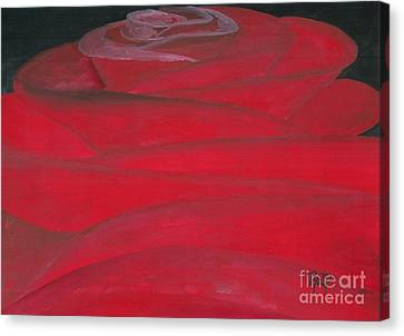 An Odd Rose... Canvas Print by Robert Meszaros