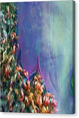 Canvas Print featuring the digital art Ancesters by Richard Laeton