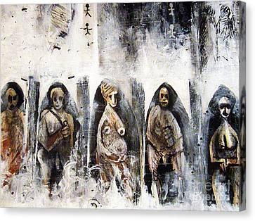 Ancestors Chamber Canvas Print by Robert Daniels