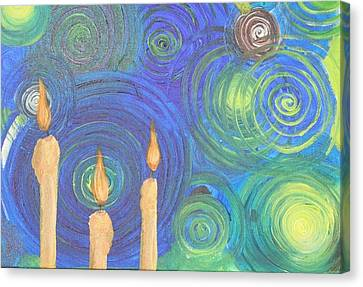 Anchors Canvas Print by Jonathan Kotinek