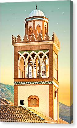 Andalucian Minaret Canvas Print by Tom Gowanlock