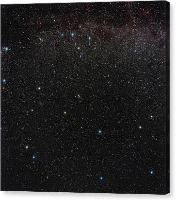Andromeda Constellation Canvas Print by Eckhard Slawik