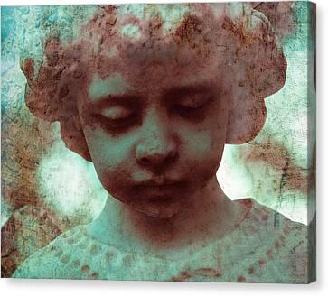 Angel Boy Canvas Print by Sonja Quintero
