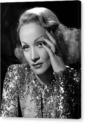 Angel, Marlene Dietrich, 1937 Canvas Print by Everett