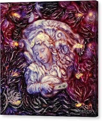 Angelic Music Canvas Print by Renata Ratajczyk