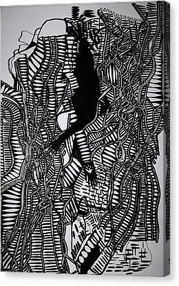Angels Kiss Canvas Print by Gloria Ssali