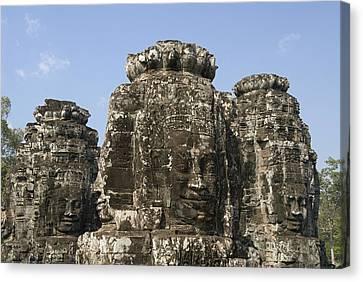 Angkor Thom IIi Canvas Print by Gloria & Richard Maschmeyer