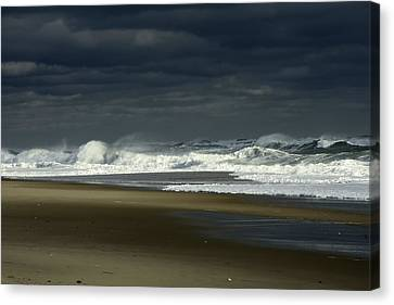 Angry Nauset Canvas Print by Dapixara Art