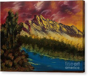 Angry Sky Canvas Print by Sandi Murphy