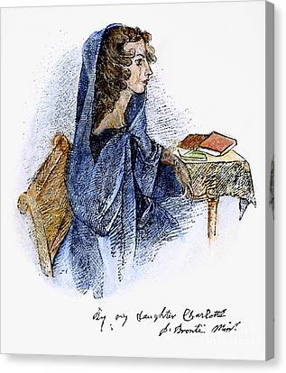Ann Bronte (1820-1849) Canvas Print by Granger