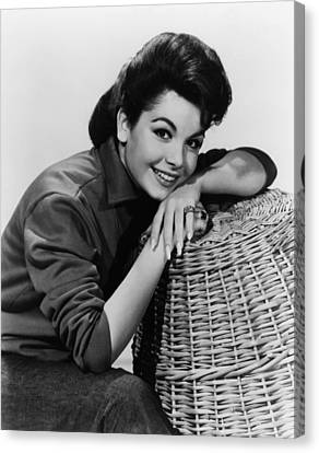 Annette Funicello, Ca. Early 1960s Canvas Print by Everett