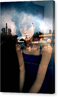 Annette Canvas Print by Jez C Self
