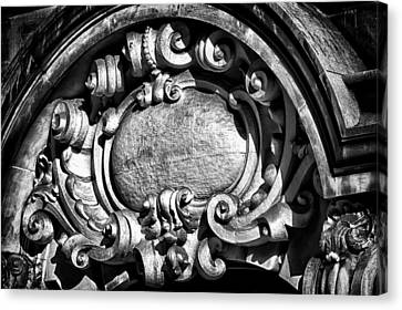 Ansonia Building Detail 13 Canvas Print by Val Black Russian Tourchin