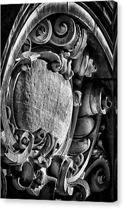 Ansonia Building Detail 17 Canvas Print by Val Black Russian Tourchin