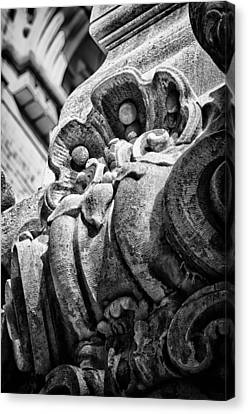 Ansonia Building Detail 22 Canvas Print by Val Black Russian Tourchin