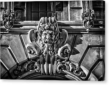 Ansonia Building Detail 3 Canvas Print by Val Black Russian Tourchin