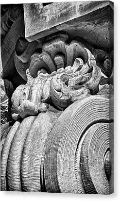 Ansonia Building Detail 31 Canvas Print by Val Black Russian Tourchin