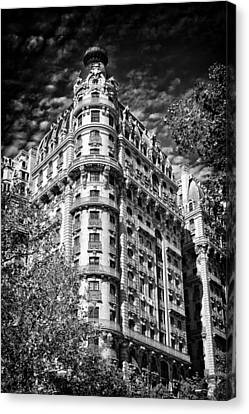 Ansonia Building Detail 32 Canvas Print by Val Black Russian Tourchin