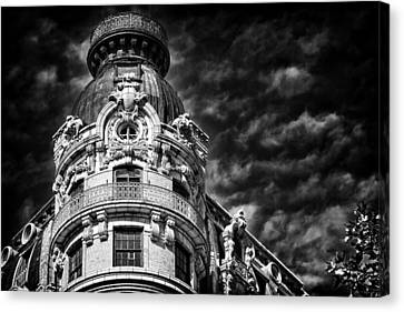 Ansonia Building Detail 33 Canvas Print by Val Black Russian Tourchin