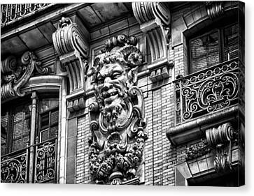 Ansonia Building Detail 44 Canvas Print by Val Black Russian Tourchin