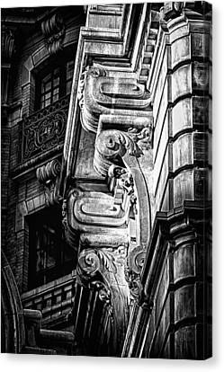 Ansonia Building Detail 49 Canvas Print by Val Black Russian Tourchin