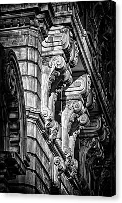 Ansonia Building Detail 7 Canvas Print by Val Black Russian Tourchin