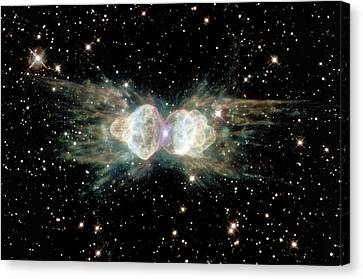 Ant Planetary Nebula Canvas Print by Nasaesastscihubble Heritage Team