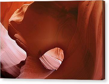Antelope Canyon - A Rare Beauty Canvas Print by Christine Till