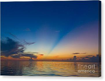 Anticrepuscular Rays Canvas Print by Jen TenBarge