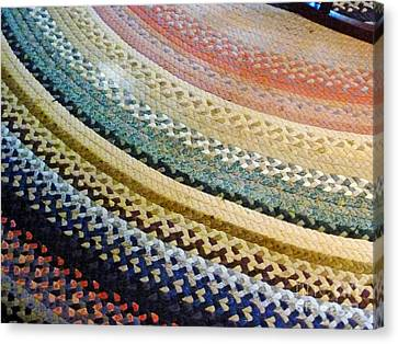 Antique Rug Canvas Print by Methune Hively