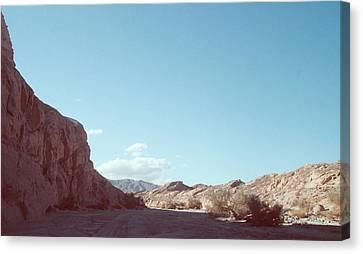 Anza Borrego Mountains Canvas Print by Naxart Studio