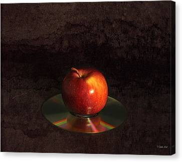 Apple Canvas Print by Peter Chilelli