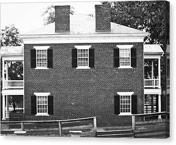 Appomattox Courthouse Canvas Print by Teresa Mucha