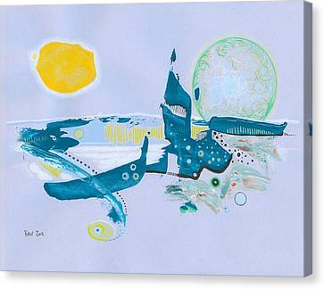 Aqua- Planet Canvas Print by Ralf Schulze