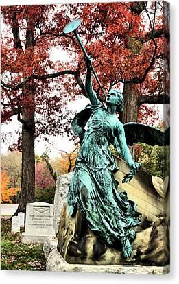 Archangel Gabriel Canvas Print by JC Findley