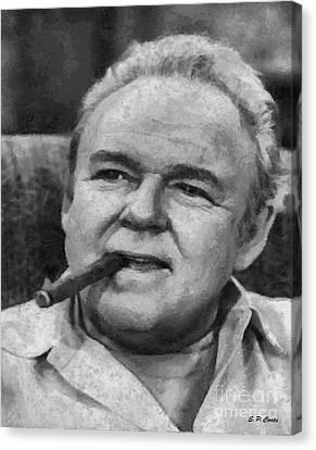 Archie Bunker Canvas Print by Elizabeth Coats