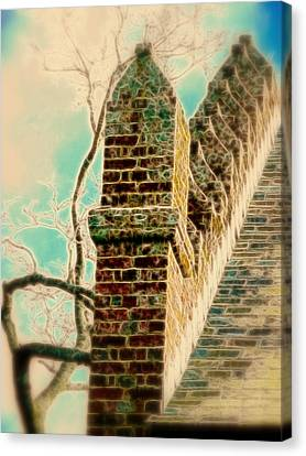 Architectural Art Canvas Print by Cindy Wright