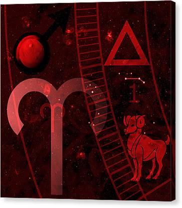 Aries Canvas Print by JP Rhea