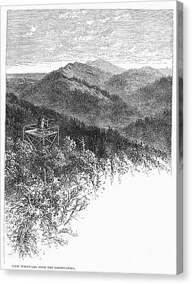 Arkansas: Mountains, 1878 Canvas Print by Granger