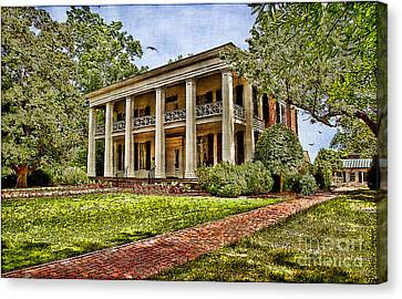 Arlington House Canvas Print by Lianne Schneider