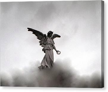 Armless Angel Canvas Print by Doug  Duffey