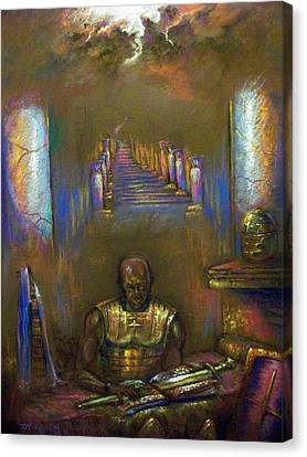 Armor Of God Canvas Print by Tommy  Winn