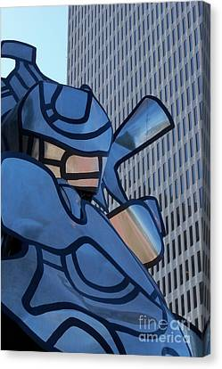 Art And Architecture Canvas Print by Laurel Thomson