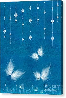 Art En Blanc - S11dt01 Canvas Print by Variance Collections
