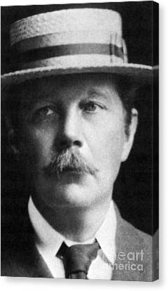Arthur Conan Doyle, Scottish Author Canvas Print by Science Source