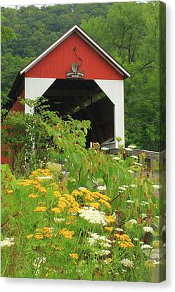 Arthur Smith Covered Bridge Colrain Ma Photograph By John Burk