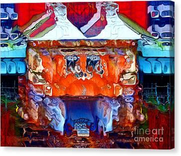 Artistic Vision - Archifou 80 Canvas Print by Aimelle