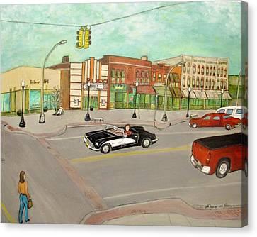 Arts Of Lapeer Canvas Print by Sharon Lee Samyn