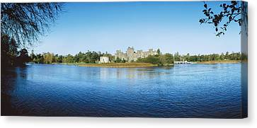 Ashford Castle Hotel, Near Cong, Co Canvas Print by The Irish Image Collection